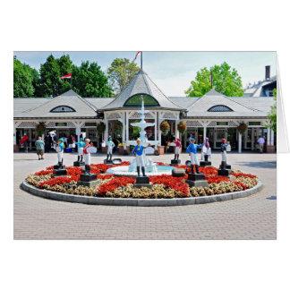 Historic Saratoga 150 on Opening Day Card