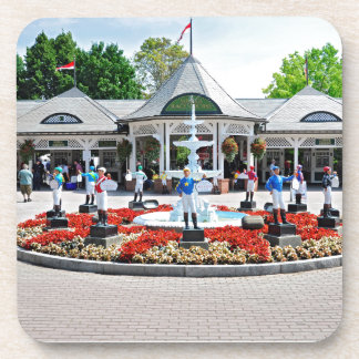 Historic Saratoga 150 on Opening Day Drink Coaster