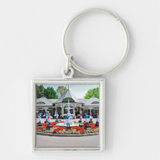 Historic Saratoga 150 on Opening Day Key Chains