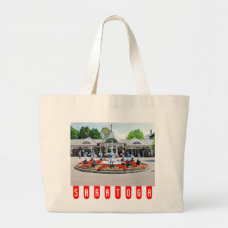 Historic Saratoga 150 on Opening Day Large Tote Bag