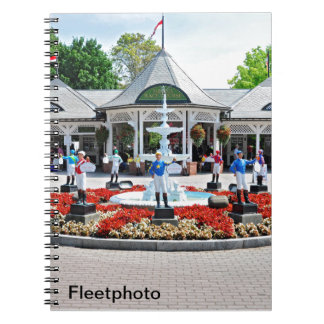 Historic Saratoga 150 on Opening Day Note Book