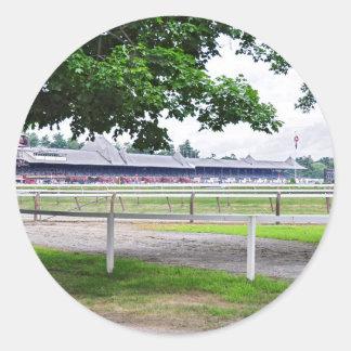 Historic Saratoga and Clare Court Classic Round Sticker