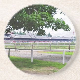 Historic Saratoga and Clare Court Drink Coaster