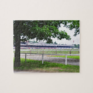 Historic Saratoga and Clare Court Jigsaw Puzzle