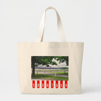 Historic Saratoga and Clare Court Large Tote Bag