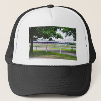 Historic Saratoga and Clare Court Trucker Hat