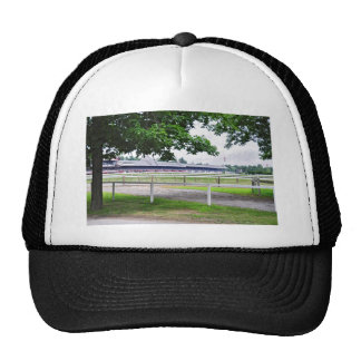 Historic Saratoga and Clare Court Trucker Hat