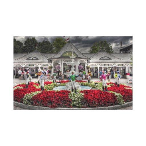 Historic Saratoga Race Course Gallery Wrap Canvas