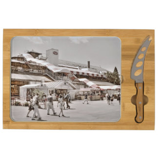 Historic Saratoga Race Course Entrance Cheese Platter