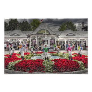 Historic Saratoga Race Course Entrance Photo Print