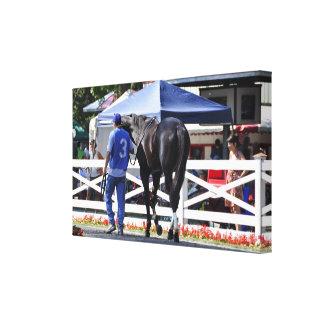 Historic Saratoga Race Course-Souper Speedy Canvas Print
