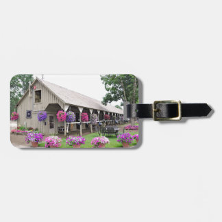 Historic Saratoga Stables Luggage Tag