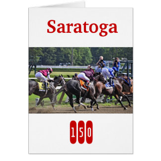 Historic Saratoga Turns 150 years old Cards