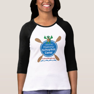 Historic Schuylkill Canal Women's Raglan T-Shirt