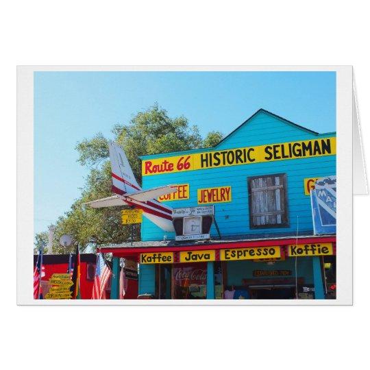 Historic Seligman route 66 Card