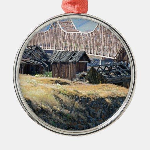 Historic Shaker Settlement in The Dalles, Oregon Ornaments