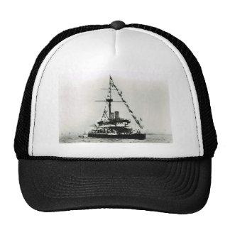 Historic Ships HMS Devastation, dressed overall Trucker Hat