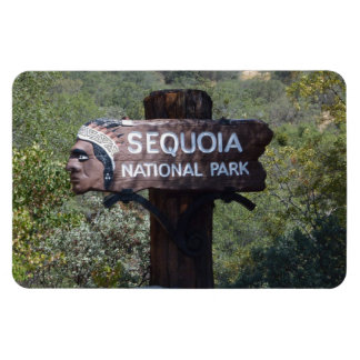 Historic Sign, Sequoia National Park Magnet