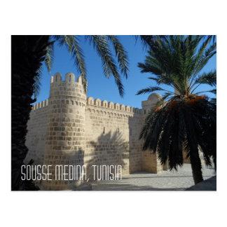 Historic Sousse Medina Street Scene Tunisia Postcard