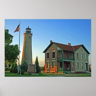 Historic Southport Lighthouse Print