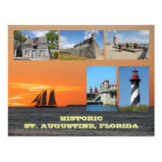 Historic St. Augustine, Florida Postcard