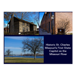 Historic St Charles Missouri Postcard