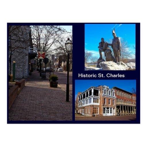 Historic St. Charles Postcards