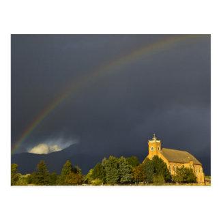 Historic St Ignatius Mission in St Ignatius, Postcard