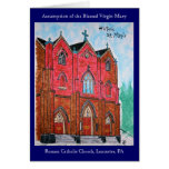 Historic St. Mary's (Painting) Card