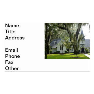 Historic St. Simons Double-Sided Standard Business Cards (Pack Of 100)