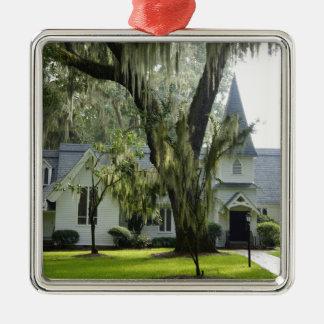 Historic St Simons Metal Ornament
