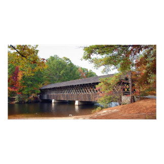 Historic Stone Mountain Georgia Covered Bridge Card