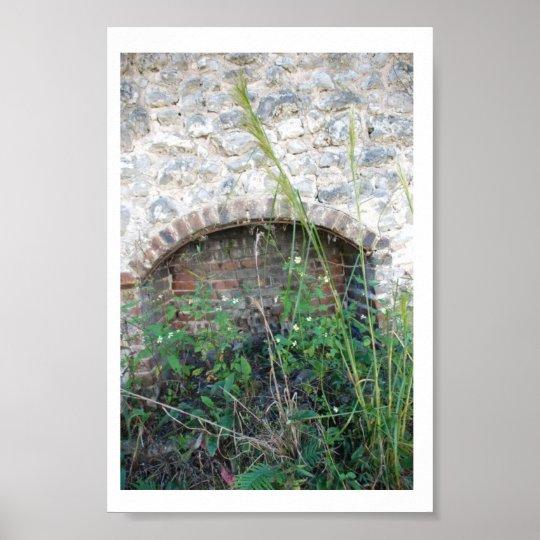 Historic Suwannee Springs, Florida  abandoned Poster