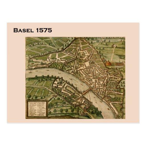 Historic Switzerland, Basel 1575 Post Card