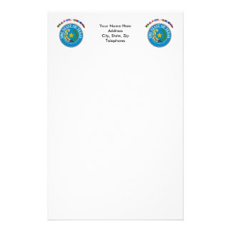 Historic Texas Flags with Seal Stationery