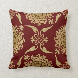 Historic Textile #10 @ SunshineDazzle Pillow