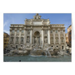 Historic Trevi Fountain in Rome, Italy Cards