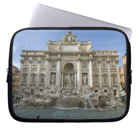 Historic Trevi Fountain in Rome, Italy Laptop Sleeve