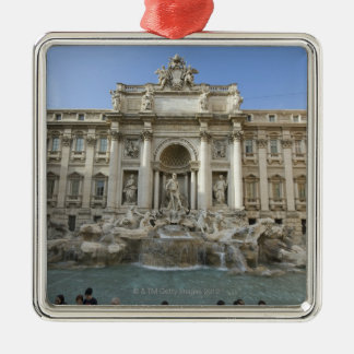 Historic Trevi Fountain in Rome, Italy Metal Ornament