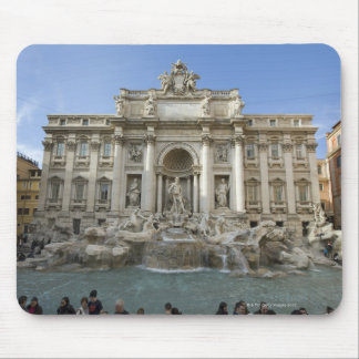 Historic Trevi Fountain in Rome, Italy Mouse Pad