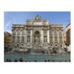 Historic Trevi Fountain in Rome, Italy Postcard