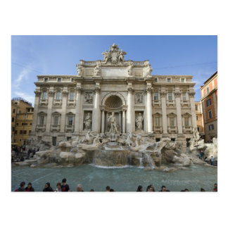 Historic Trevi Fountain in Rome, Italy Postcards