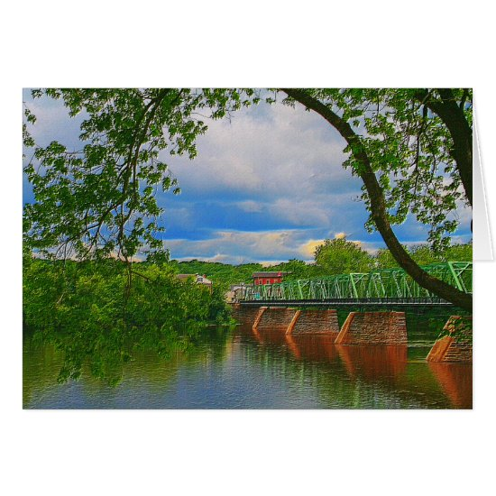 [Historic Truss Bridge] - Any Occasion Card