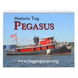 Historic Tug PEGASUS 2012 Calendar