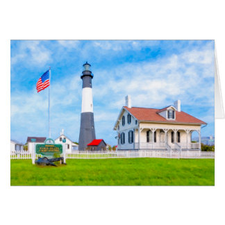 Historic Tybee Island Light Card