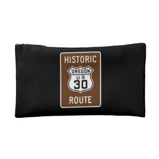 Historic U.S. 30, Oregon Cosmetic Bag