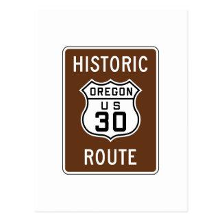 Historic U.S. 30, Oregon Postcard