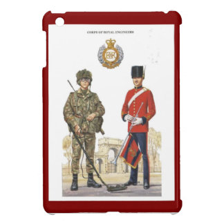 Historic Uniforms, Corps of Royal Engineers iPad Mini Cover