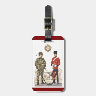 Historic Uniforms, Corps of Royal Engineers Bag Tags