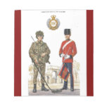 Historic Uniforms, Corps of Royal Engineers Scratch Pads